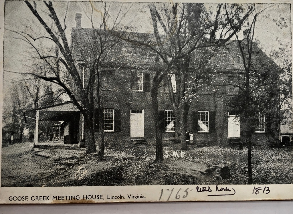 historic quaker meeting house picture
