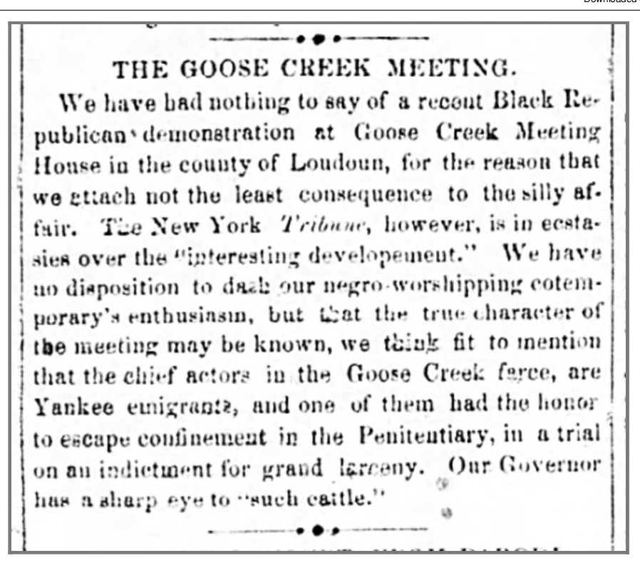 Richmond Enquirer April 8, 1856