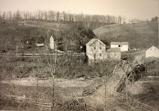 Circleville 1895 showing mill