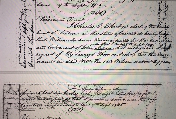 John Nixon probated will sept 8, 1845 Wilson Anderson