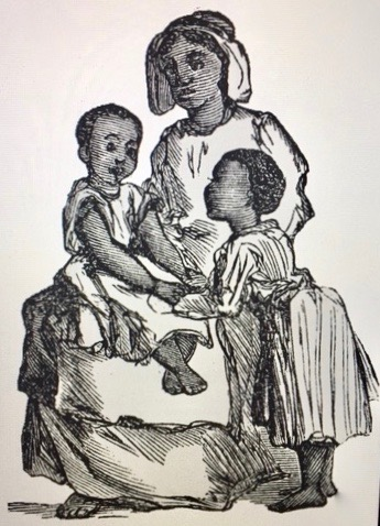 young slave woman with children (1)