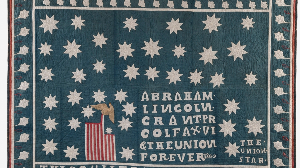 civil war art quilt