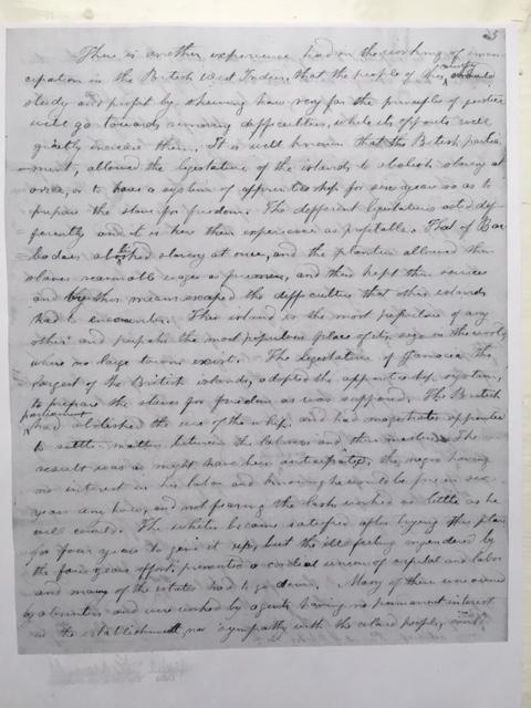 yardley taylor 1865 letter reconstruction lincoln virginia civil war
