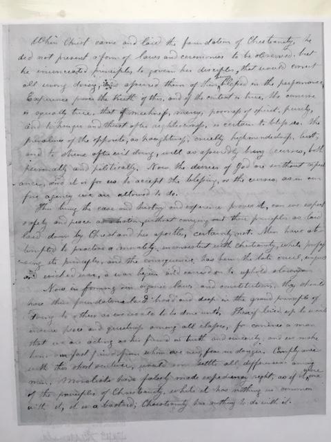 yardley taylor reconstruction letter 1865 lincoln virginia civil war