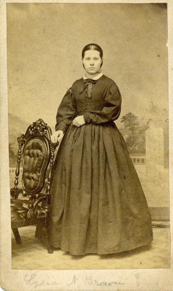 quaker girl civil war photograph