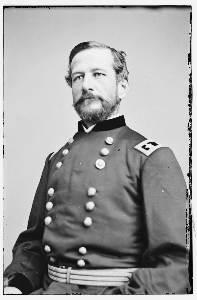 American civil war general in uniform