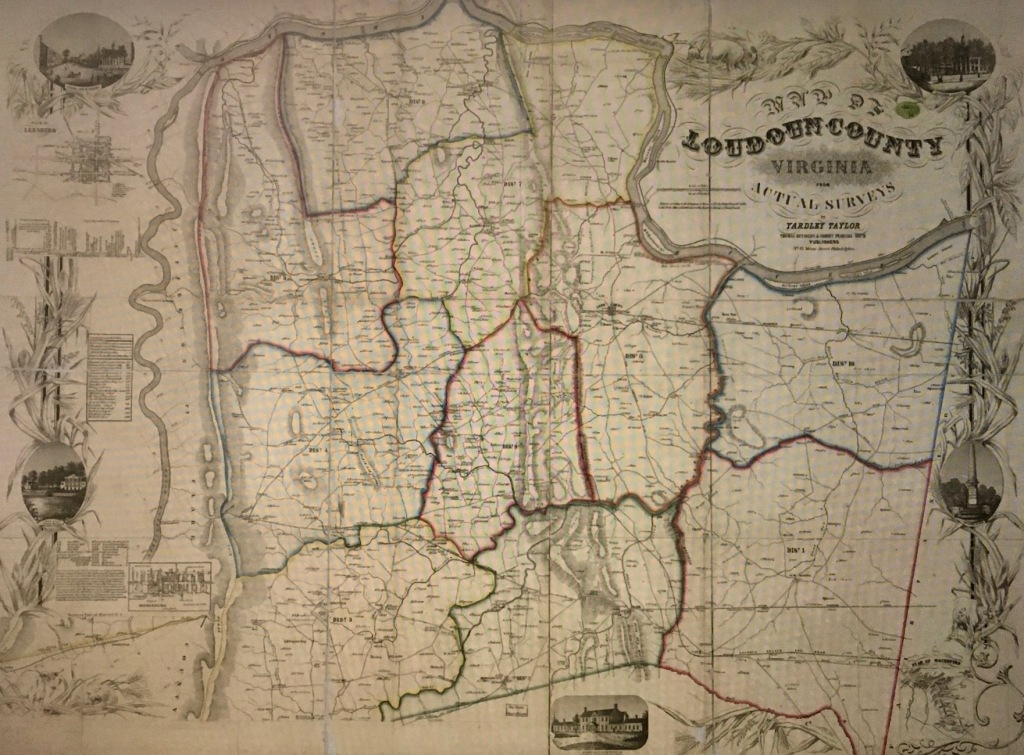 This image has an empty alt attribute; its file name is yardley-taylor-loudoun-county-1853-map.jpg