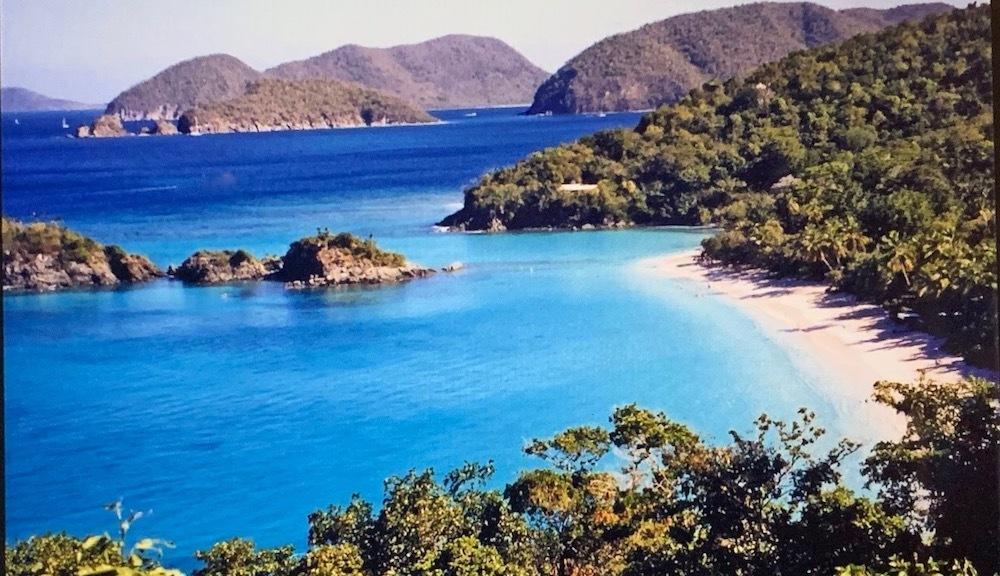carribean island and beach photograph