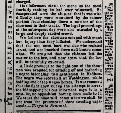 old brooklyn newspaper text
