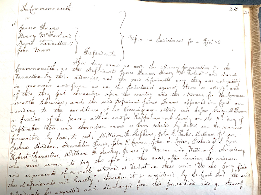 old 19th century court records