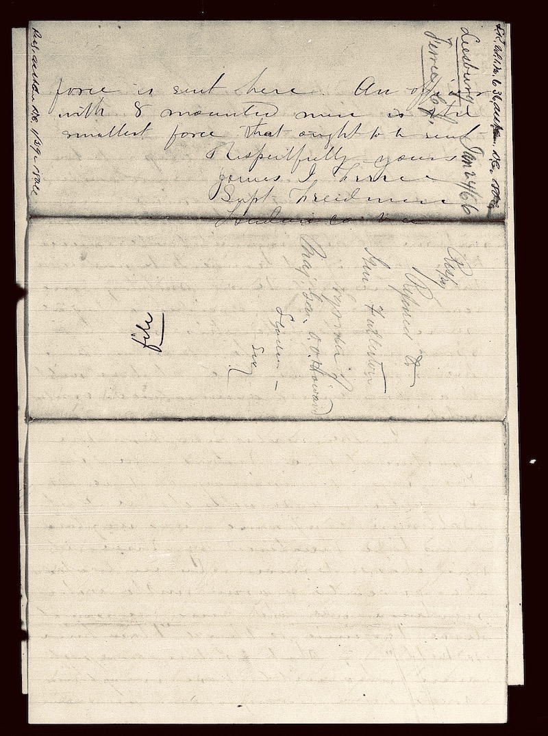 19th century handwritten letter