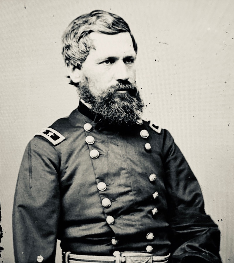 civil war general photograph