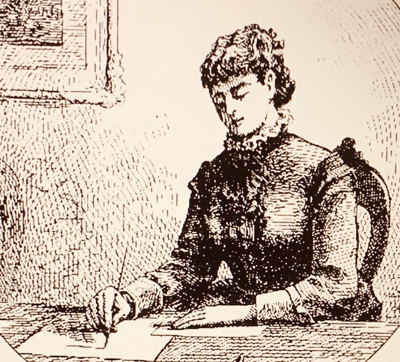 This image has an empty alt attribute; its file name is woman-writing-1.jpg